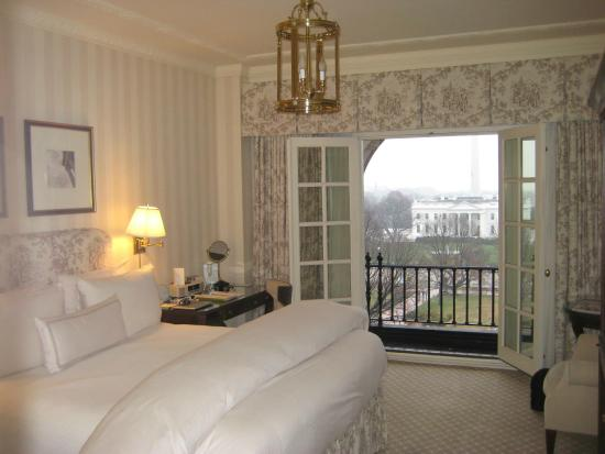 The Hay-Adams: Room & view