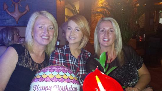 Woodford, UK: Birthday celebrations xxx