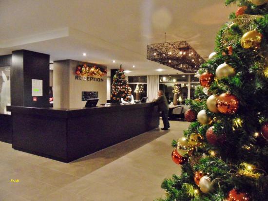 Hotel Den Haag-Wassenaar: De receptie .