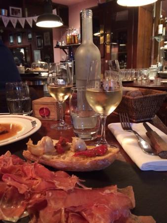Chez Boris et Leticia : Assiette de Jambon de Serano