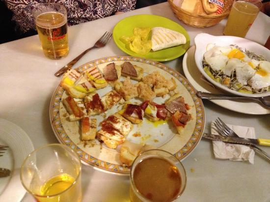Taberna Jicales: fajitas, tostas variadas y gulas