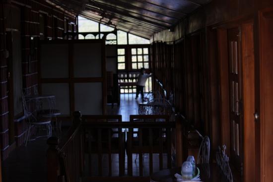 Dina Hotel: Veranda