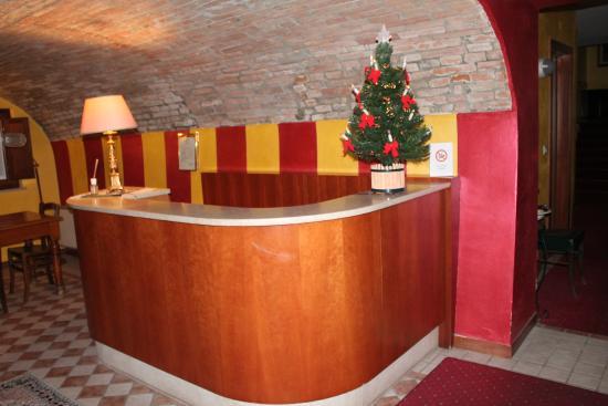 Hotel Antica Fonte: ingresso zona camere
