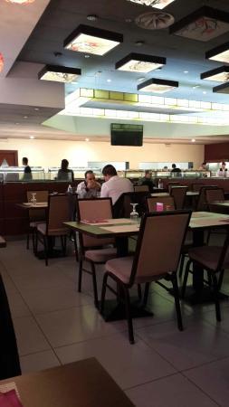 Sushi Wok: Locale interno