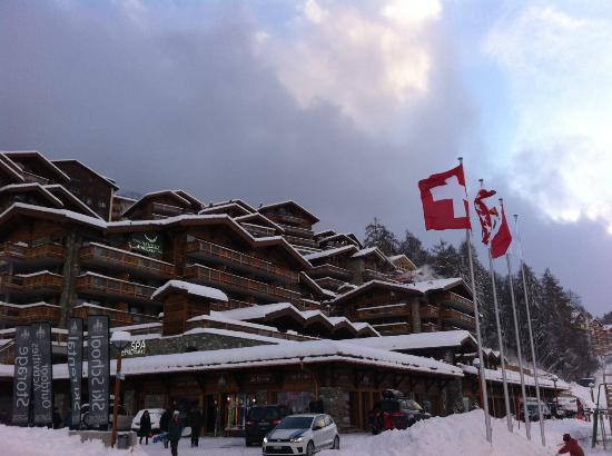 Hotel Nendaz 4 Vallees & Spa : Winter 2014/15