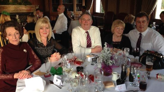 Jacks at Hartham Park: The Stokes and Edwards family enjoying the best Christmas Lunch for years !!