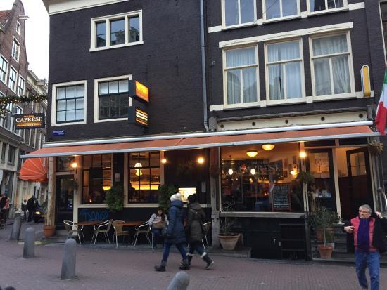 Trattoria Caprese Amsterdam: A
