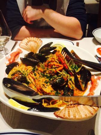 Ristorante Gran Viale : Seafood Linguine - Incredible