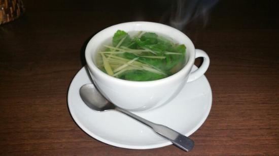 Saigon - Green: Frischer Pfefferminz tee mit Ingwer