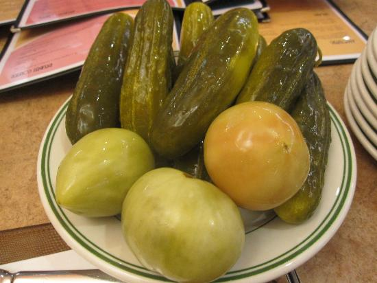 Murray's Deli: pickle entree