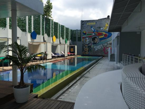 Luna2 Studiotel: Pool area