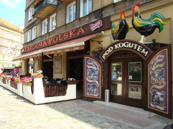 Typisch Polnische Kuche Im Herzen Von Stettin Karczma Pod Kogutem