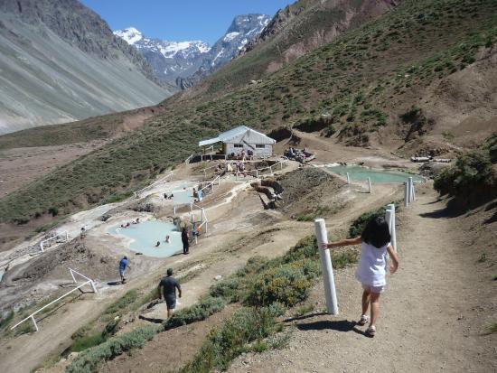 San Jose de Maipo, Chili : Termas Baños Colina