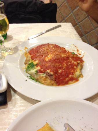 La Caravella: Nossa comida!