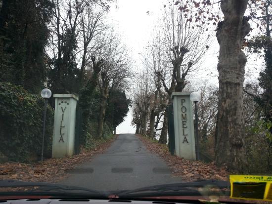 Villa Pomela: ingresso alla Villa