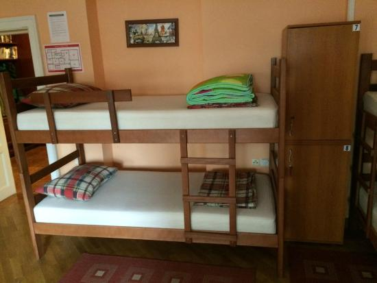 Hostel Capital Belgrade : Pokój