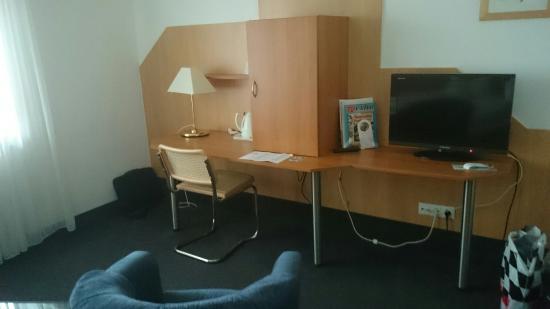 Hotel Am Kurpark Spath: Unser Zimmer