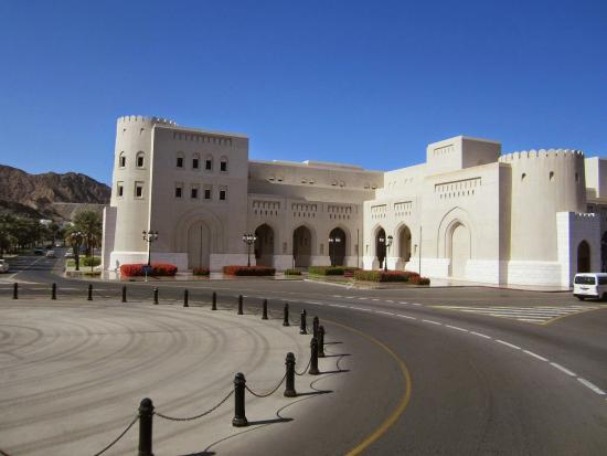 Königlicher Palast (Qaṣr al-ʿalam): Buildings Surrounding the palace