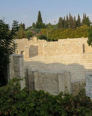 Amphitheatre, Inbal Jerusalem Hotel, photo by Mike Keenan