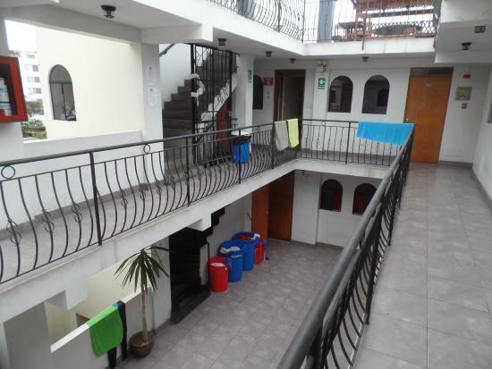 LOKI Lima: Foto tirada no corredor