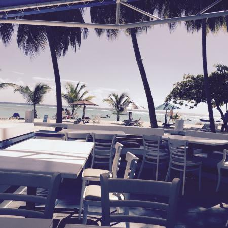 Coast, home of the Carib Beach Bar