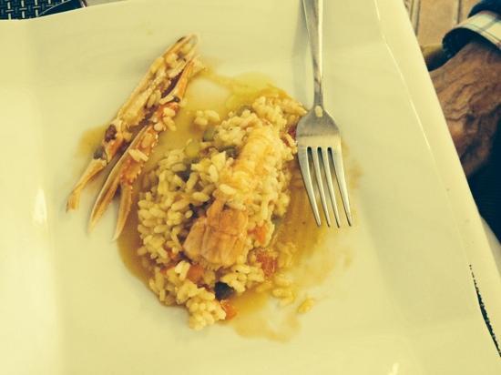 Flor de Lis: Crayfish Risotto