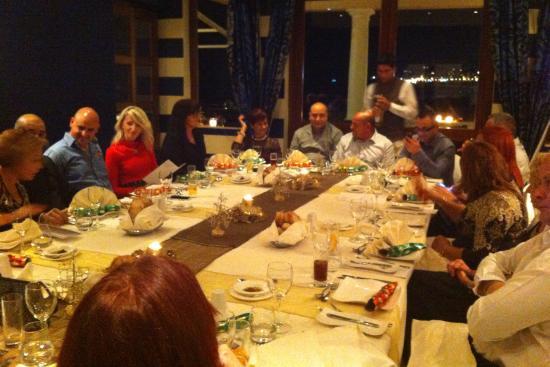 Quadro Restaurant at The Westin Dragonara Resort: Dinner with Friends