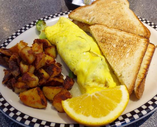 Misty Moonlight Diner: Omelet breakfast special