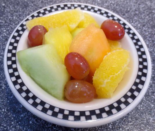 Misty Moonlight Diner: Side of fruit was just okay