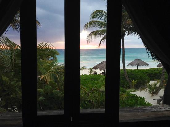 Playa Selva : The view from our cabana!