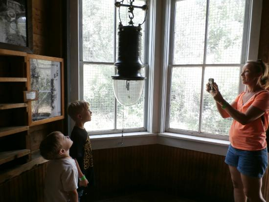 Georgetown Energy Museum: now that's a lightbulb