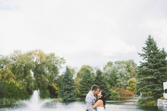 Nestleton, Canada: Take your wedding photos onsite!