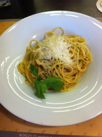 Ristorante Piazza: spaghetti aglio e olio