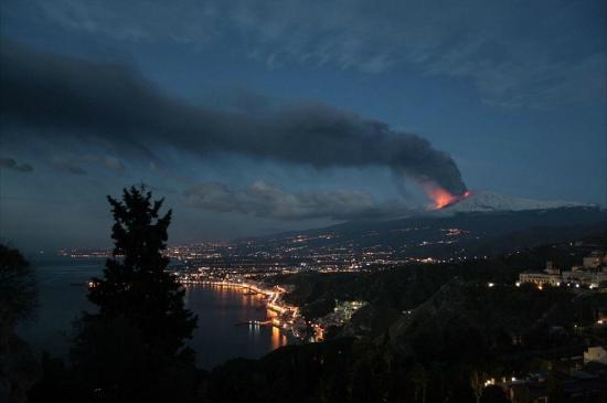 Milo, Italien: Ghebel Etna view