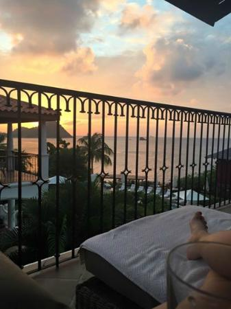 Cap Estate, เซนต์ลูเซีย: View from our balcony