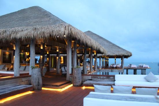 Song Saa Private Island: The overwater bar
