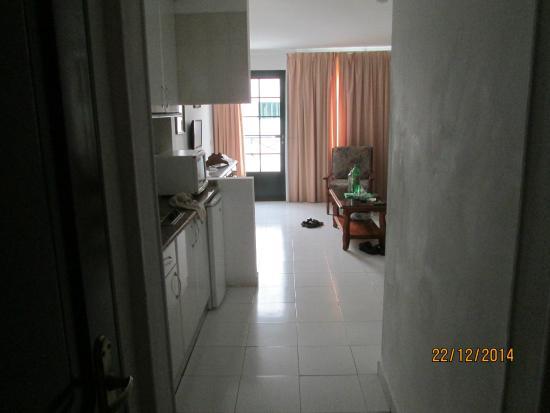 Morana Apartments: towards patio door