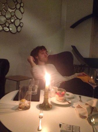 Raffl´s Tyrol Hotel : relaxing after dinner