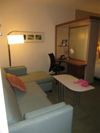 SpringHill Suites Ashburn Dulles North: Room