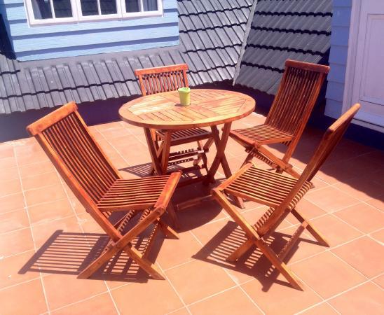 Birkenhead Manor Boutique Guest House: Dalterras/balkon