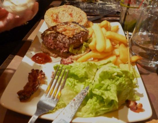 Le Grognard : le burger excellent !