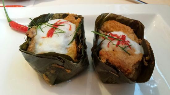 Bangkok : ห่อหมกปลา อร่อยค่ะ ไม่คิดว่าจะได้ทาน เพราะปกติเมนูนี้ตามร้านอาหารไทยไม่ค่อยจะมี