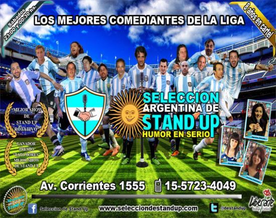 ‪Seleccion Argentina de Stand Up‬