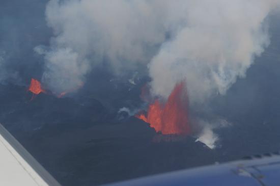 Eagle Air Adventure Tours : Bardarbunga eruption