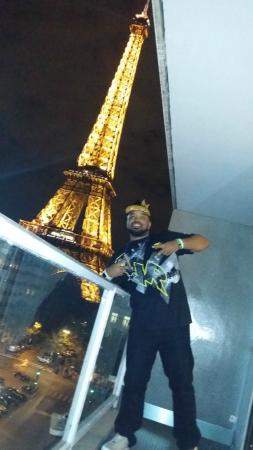 View From My Hotel Balcony Picture Of Pullman Paris Tour