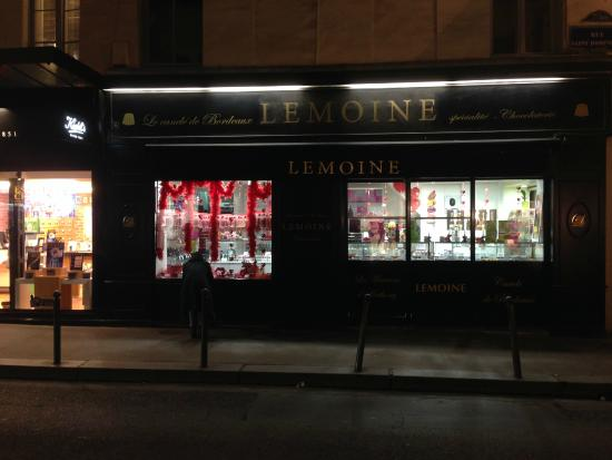 Picture of Lemoine at night