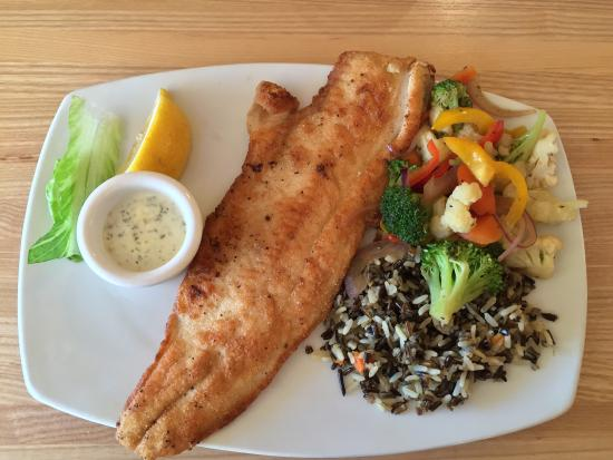 Harbor House Grille: White Fish