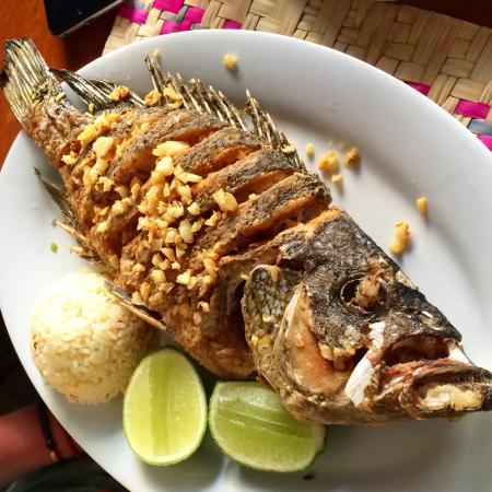 Restaurante La Luna: Fish a la plancha (grilled)