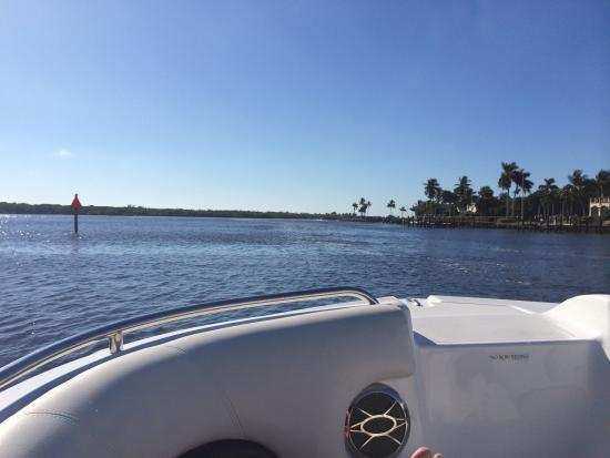Boat Rentals At Naples Bay Resort Naples Florida Rachael