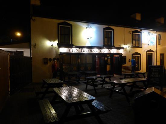 Bunratty Inn by Moonlight